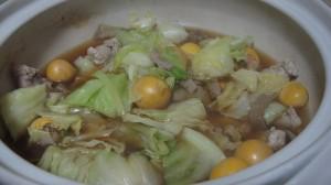 鶏キンカンのモツ鍋