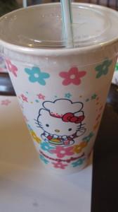 キティちゃんのコップ
