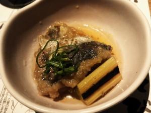 高知県宿毛湾産鰺と焼葱の南蛮漬け