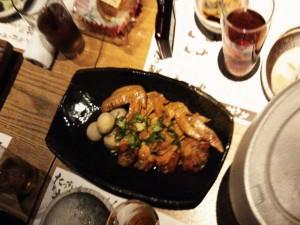 土佐はちきん地鶏の手羽先と里芋の生姜煮