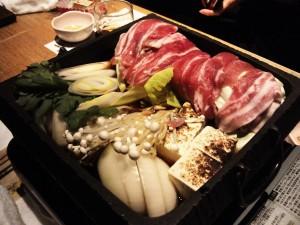 高知県美鮮豚のすき焼き