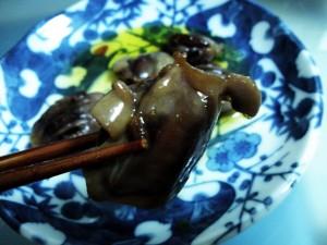 砂肝のオリーブオイル煮