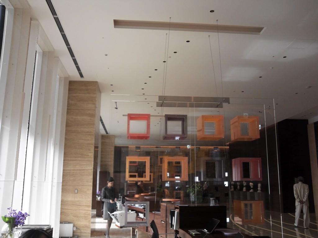インターコンチネンタルホテル大阪フロント